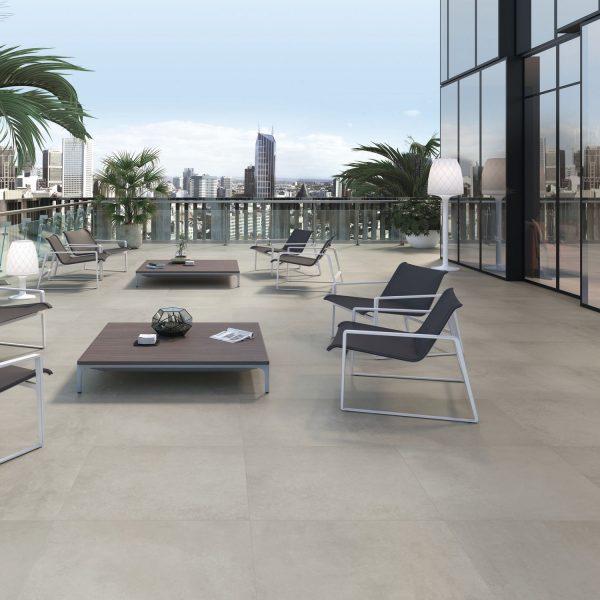 Carrelage mur et sol aspect gris anthracite GRAFTON 60X60