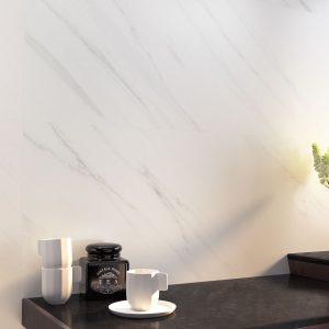 Carrelage mural aspect blanc TASOS 40X120