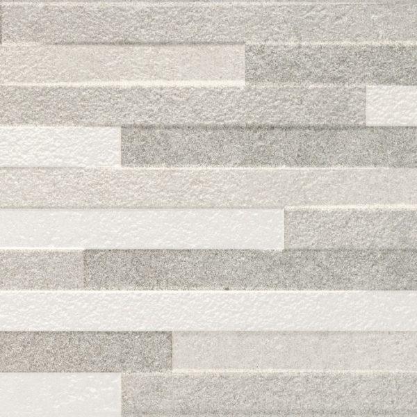 Carrelage sol et mur aspect Gris PIERRE STUCK 30X60