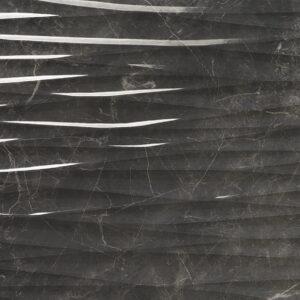 Carrelage sol et mur aspect Noir Strass BALMORAL 30X90