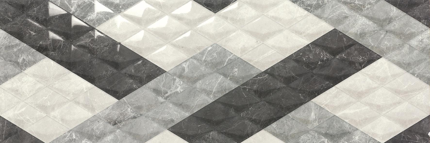 Carrelage sol et mur aspect Silver Optic BALMORAL 30X90