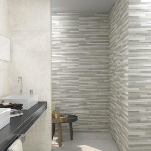 Carrelage sol et mur aspect Sable PIERRE BONE 30X60
