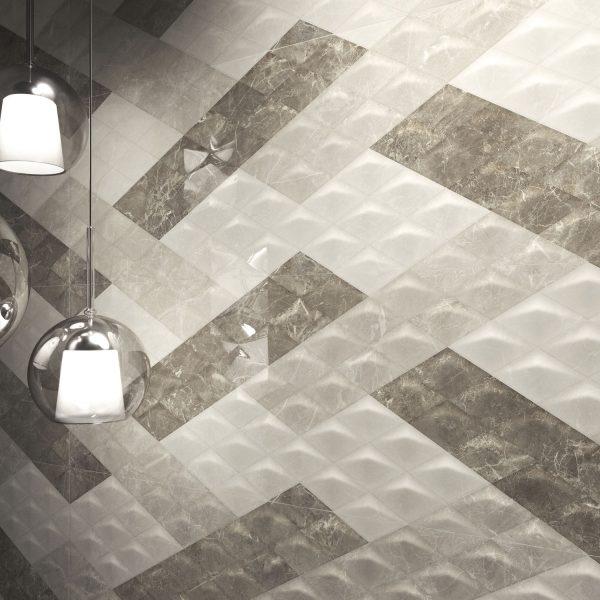 Carrelage sol et mur aspect Sable Optic BALMORAL 30X90